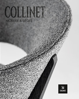 Furniture and chair catalogue by Collinet