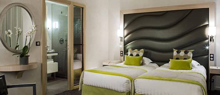 High end headboard for hotel