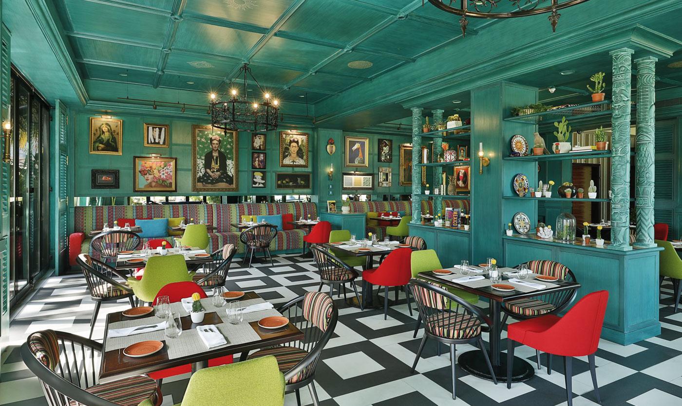 Cantina khalo ritz carlton restaurant in bahrain collinet