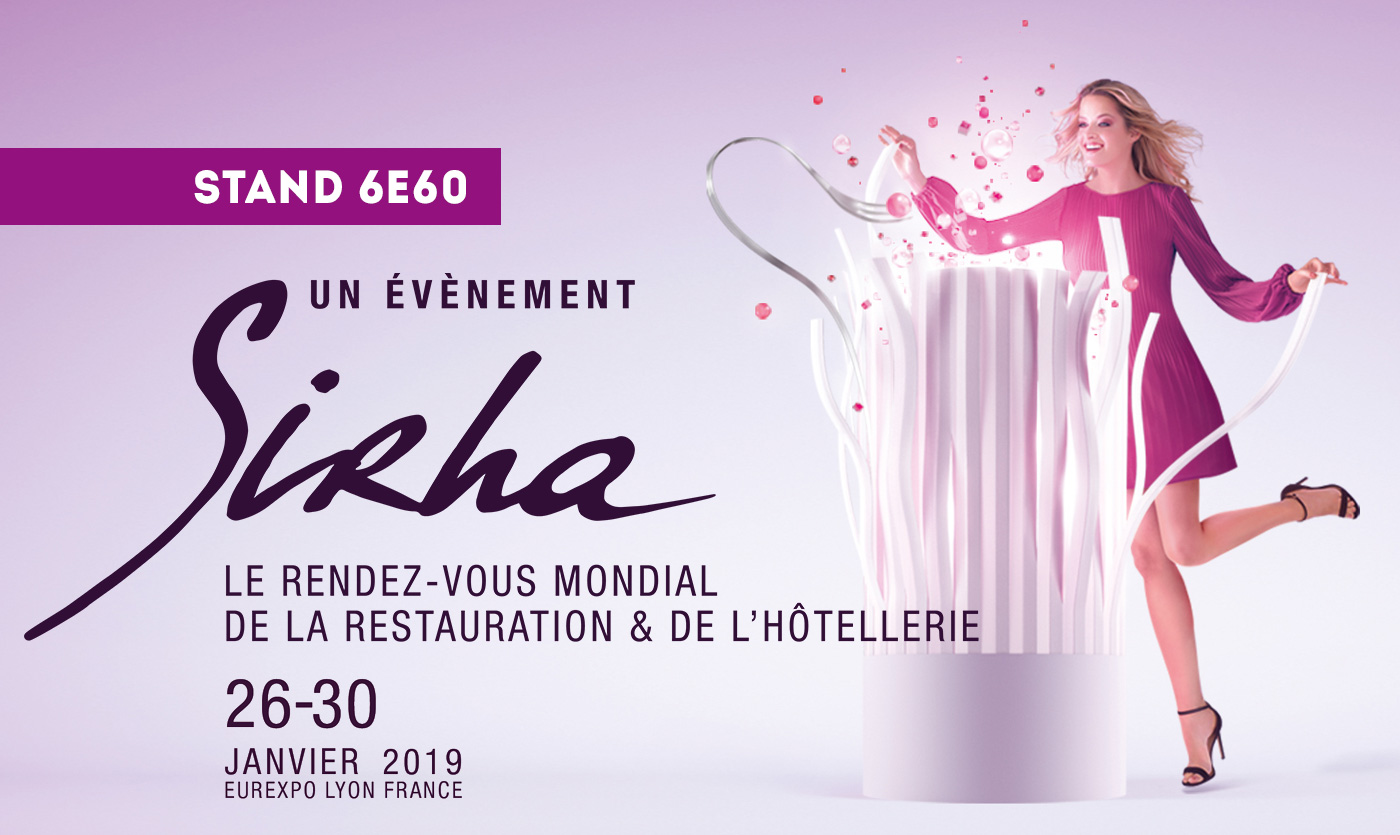 Hotel and restaurant furniture at Sirha 2019