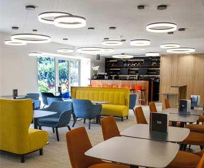 New furniture for the Best Western Plus Divona hotel in Cahors