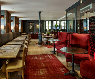 Furniture for Restaurant du Mouton