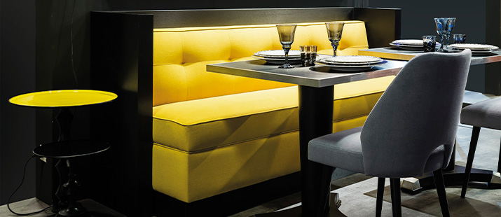 Restaurant Furniture Collinet - Table and chair design for restaurant