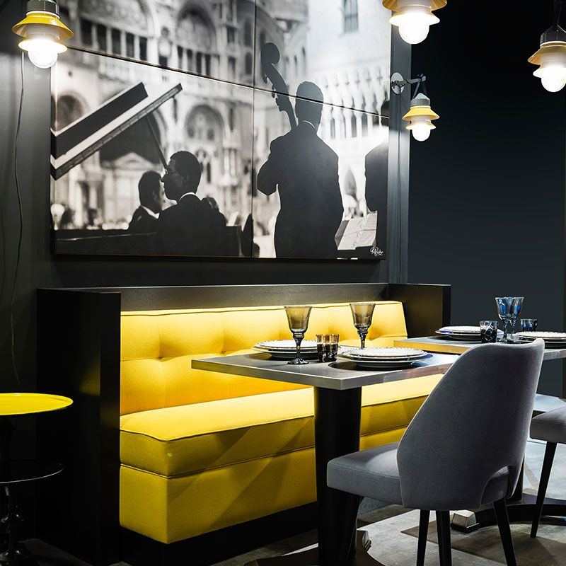 Bench For Hotel Restaurant Bar Woodoo Collinet