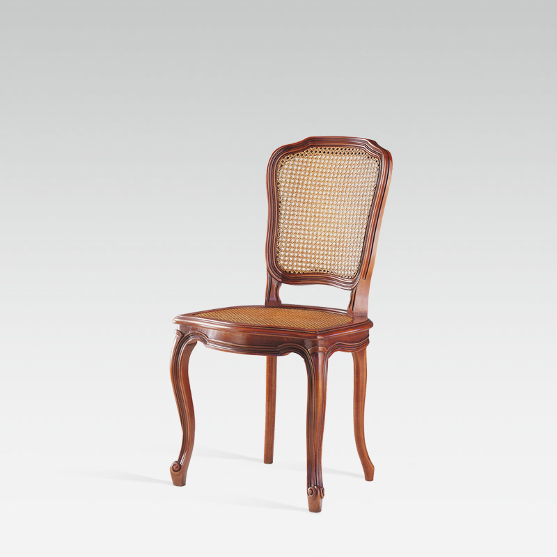 Louis XV French Canned Chair