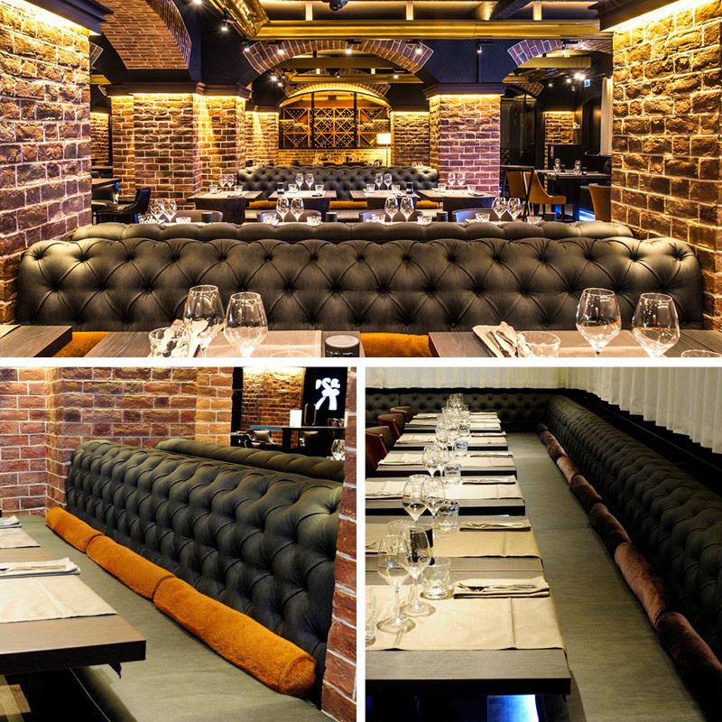 Bench For Hotel Restaurant Chesterfield Collinet