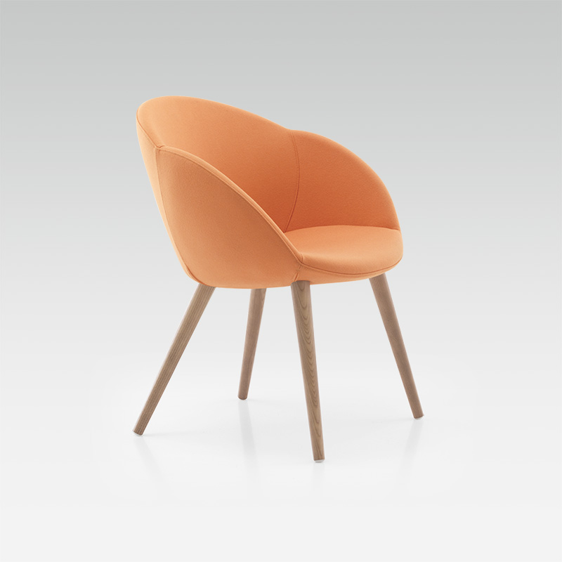 Orange design Delta armchair