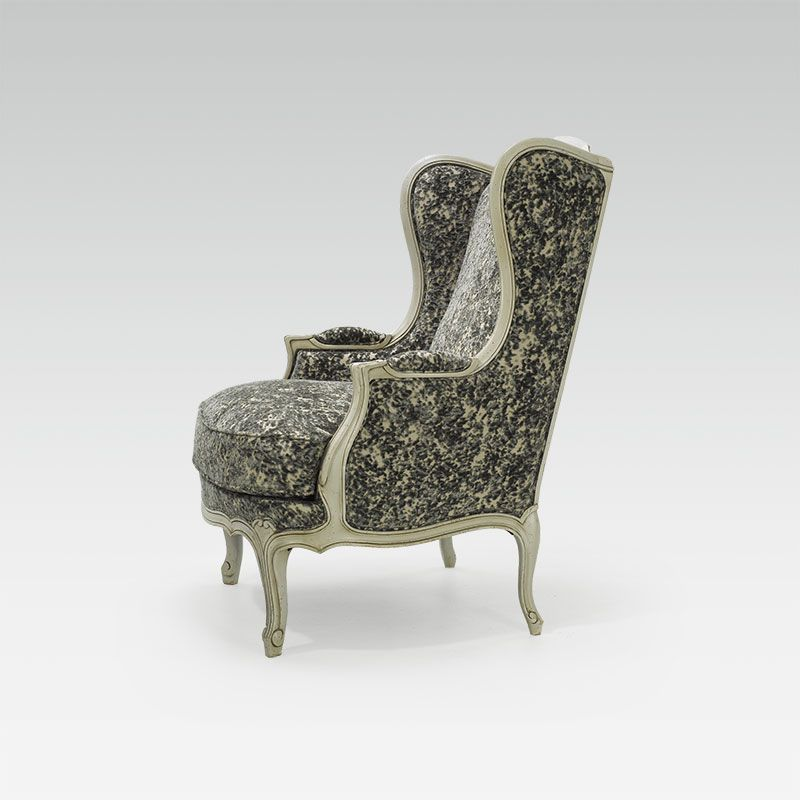 Bergere Chair For Hotel Restaurant Bar Louis Xv Oreille Collinet