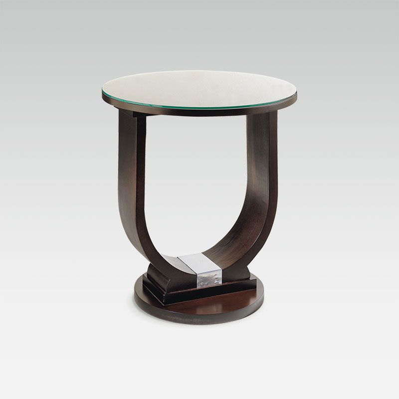 pedestal table Deco U 1