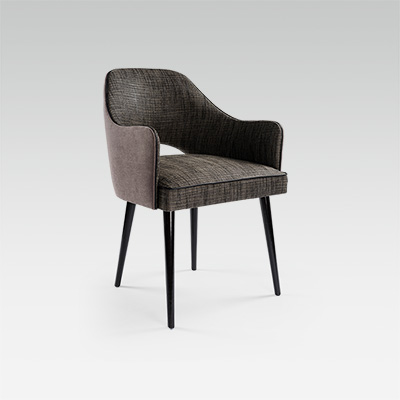 Modern Armchair For Restaurant Hotel Bar Collinet