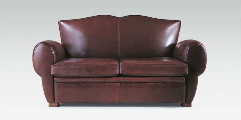 Club chairs, leather sofas and leather pouffes: Club Collection ...