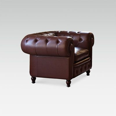 leather club chair for restaurant hotel bar collinet