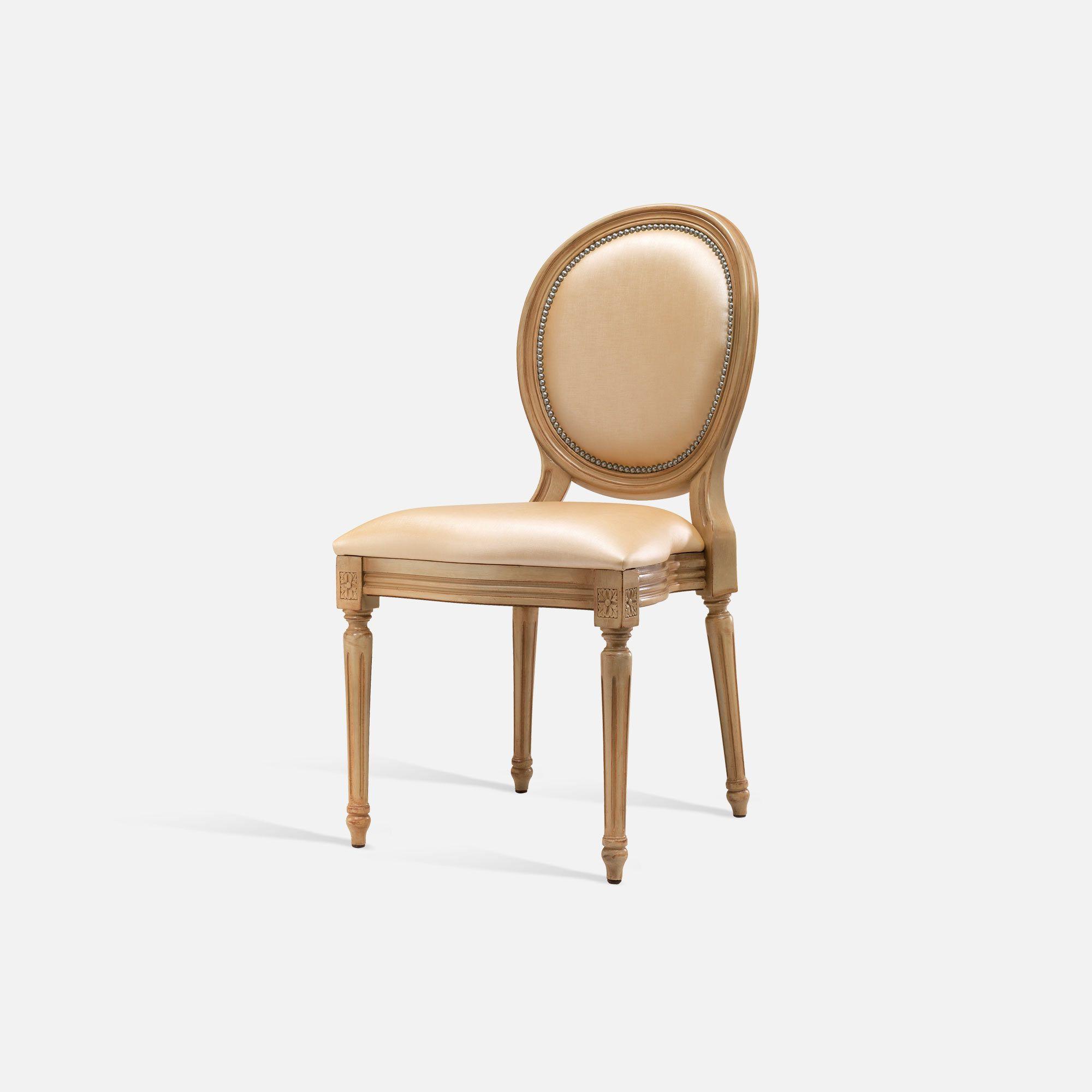 Stackable medallion chair for hotel restaurant bar for Chaise medaillon louis xvi