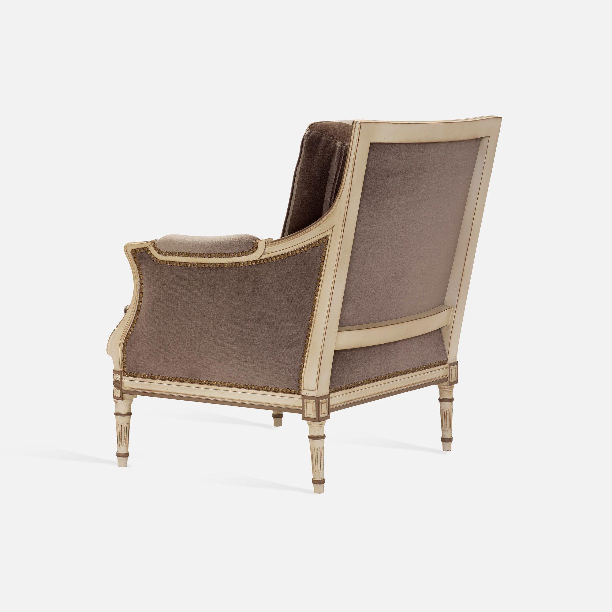 Bergere chair for Hotel restaurant bar Louis XVI