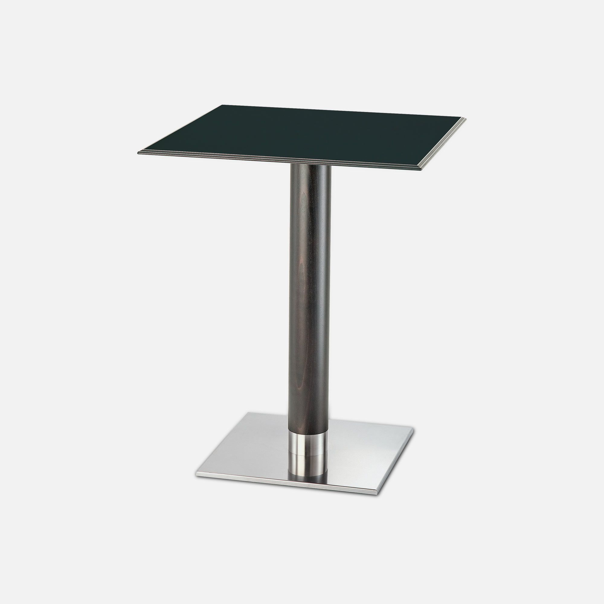 Square table for hotel restaurant bar nox collinet for Table cuisine professionnelle inox