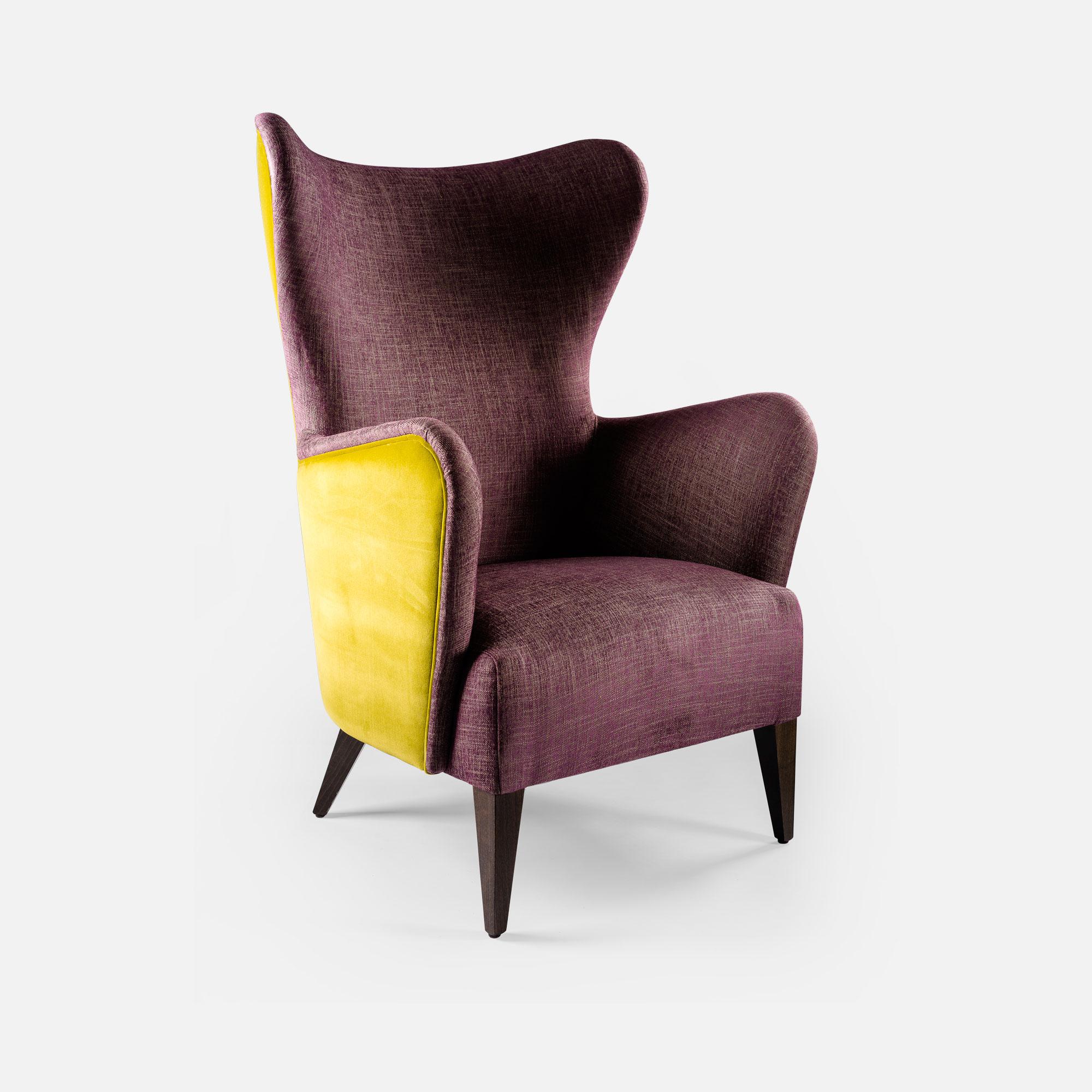Bergere chair for Hotel restaurant bar Loft