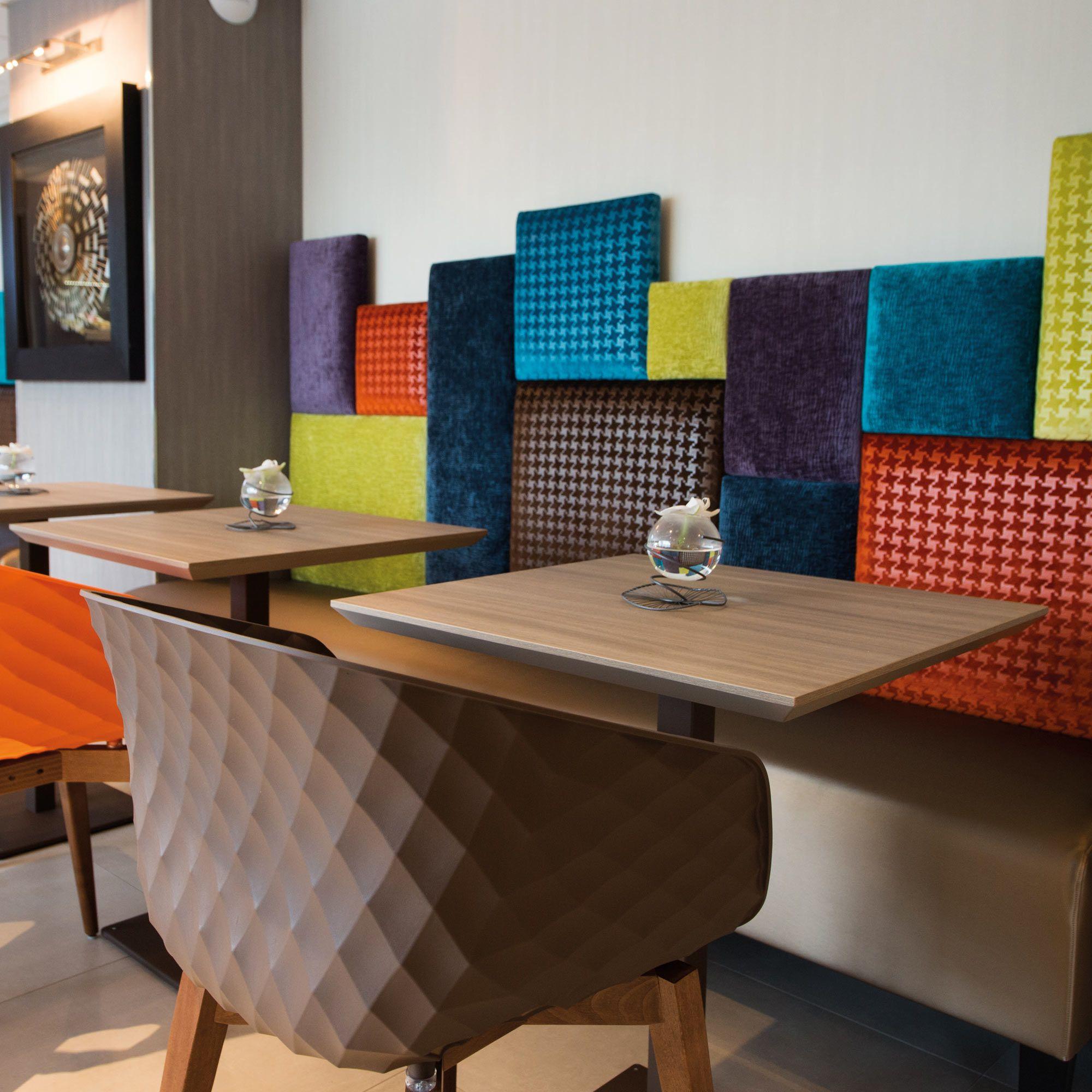 bench for hotel restaurant bar saint quentin collinet. Black Bedroom Furniture Sets. Home Design Ideas