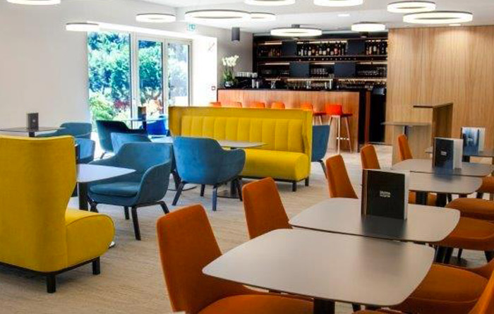 Hotel furniture for Best Western Plus Divona in Cahors