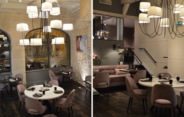 Restaurant furniture for A Contre Sens in Caen 5