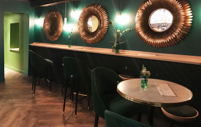 Bar furniture for le Bagatelle in Nancy 3