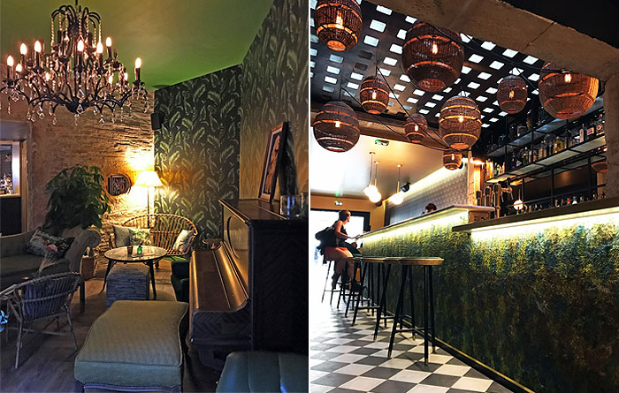 Bar furniture for le Bagatelle in Nancy 2