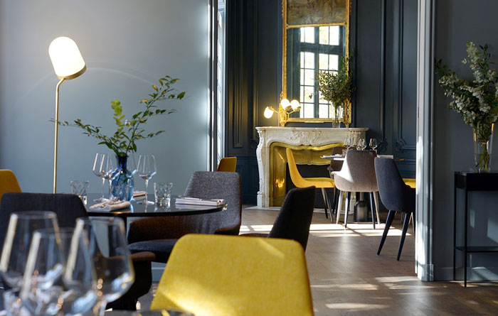 Furniture from the Restaurant Maison Bouquet in Roanne 2